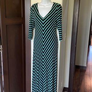 Motherhood maternity long maxi dress